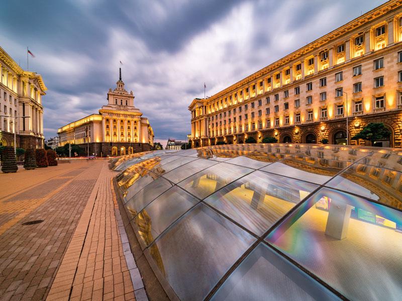 Город София, Болгария