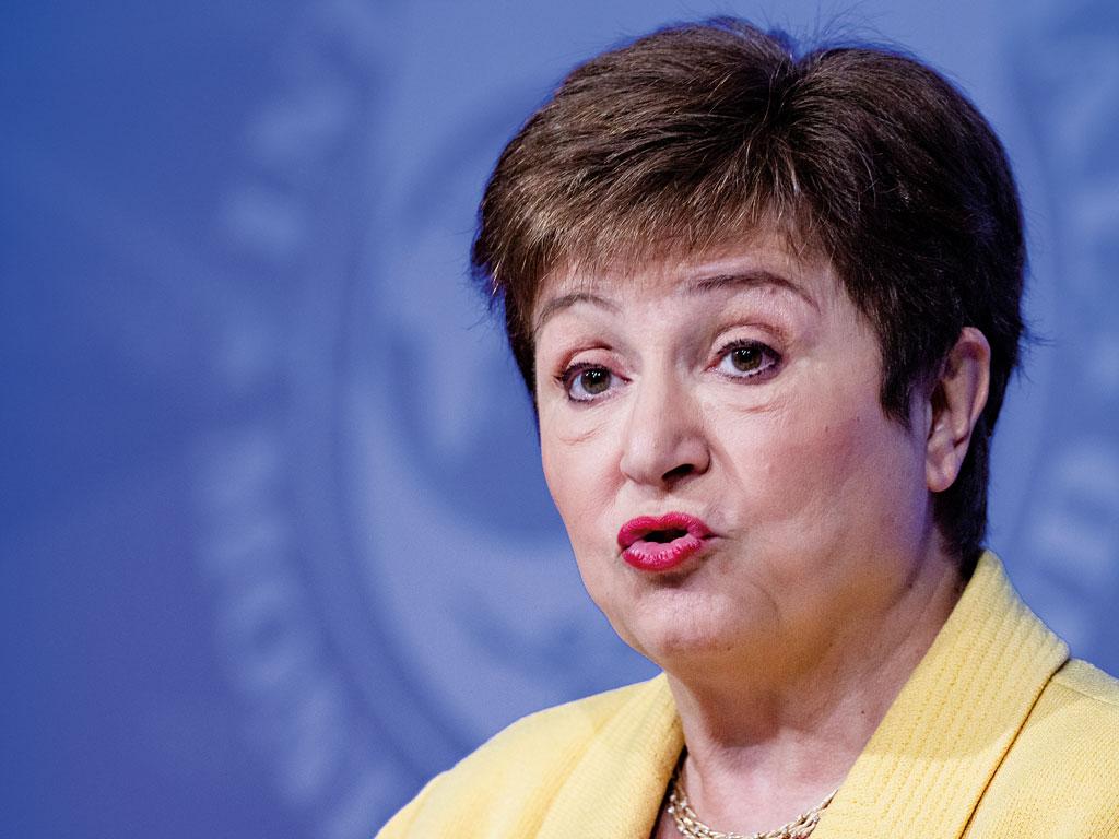 Директор-распорядитель МВФ Кристалина Георгиева