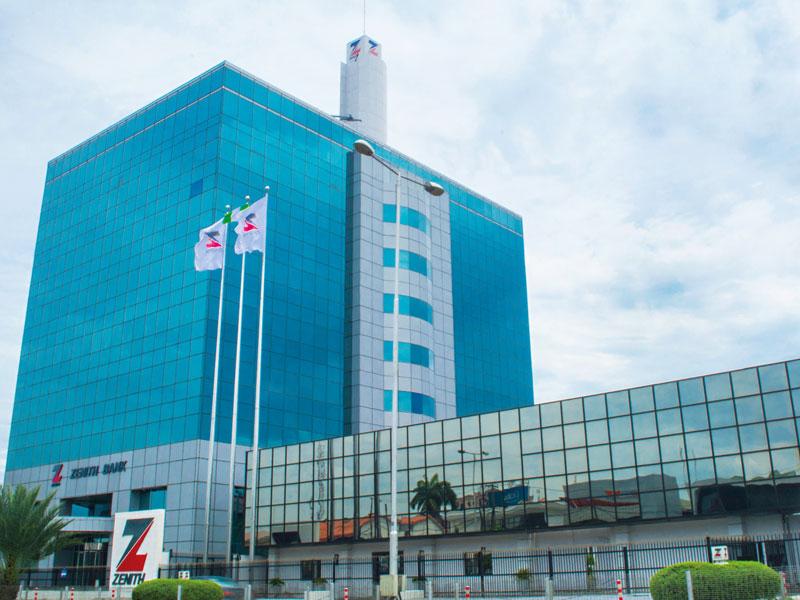 Zenith Bank's head office in Lagos, Nigeria