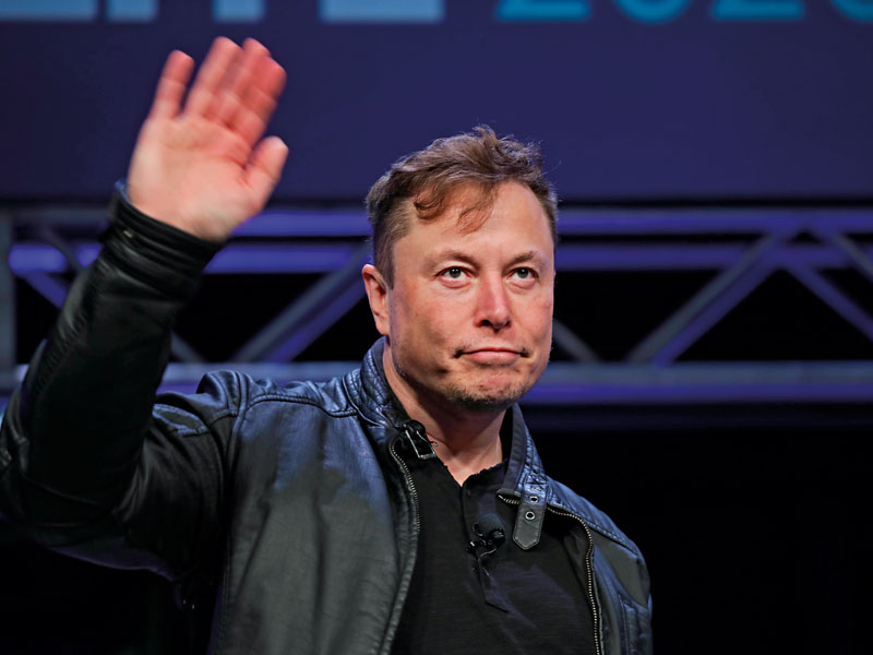 Elon Musk, currently the second richest person in the world