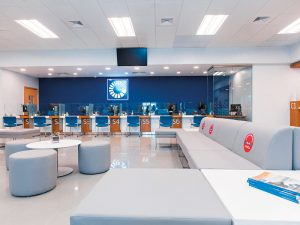 The new branches of Banco Popular Dominicano follow the global trend, incorporating greater self-service as well as business consulting