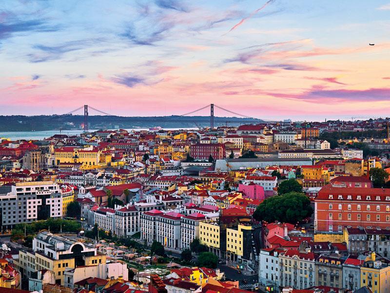 תמונה של ליסבון באדיבות Deensel
