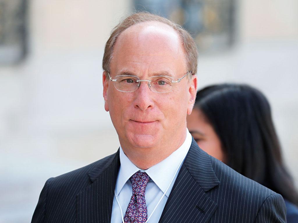 CEO of Blackrock, Larry Fink