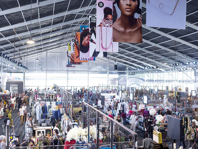 GTBank food and drink exhibition